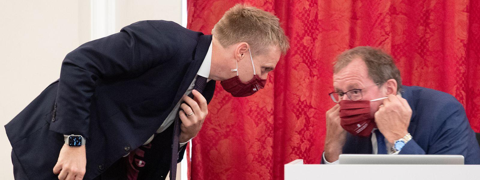 Pour le secrétaire général de la Chambre des députés (Laurent Scheeck) et son président Fernand Etgen, la Chambre est prête à passer au vote à distance. Techniquement en tout cas...