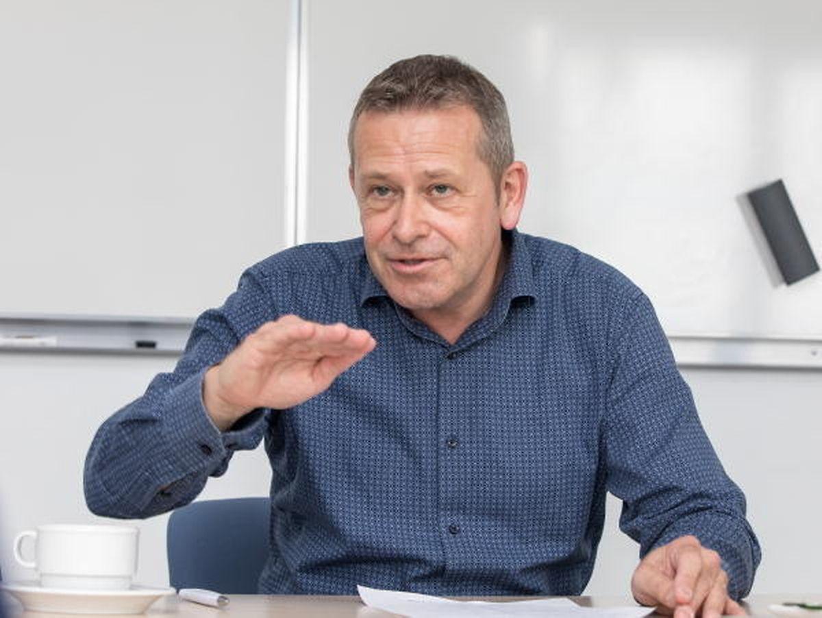 Julian Proffitt, Luxembourg Auto Suppliers Association president PHOTO: Guy Jallay