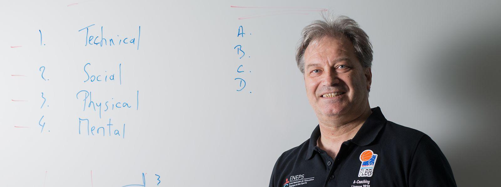 """FLBB-Vizepräsident Michel Reiland: """"Wir haben sehr gute Luxemburger Trainer. Leider bekommen sie nicht immer eine Chance."""""""