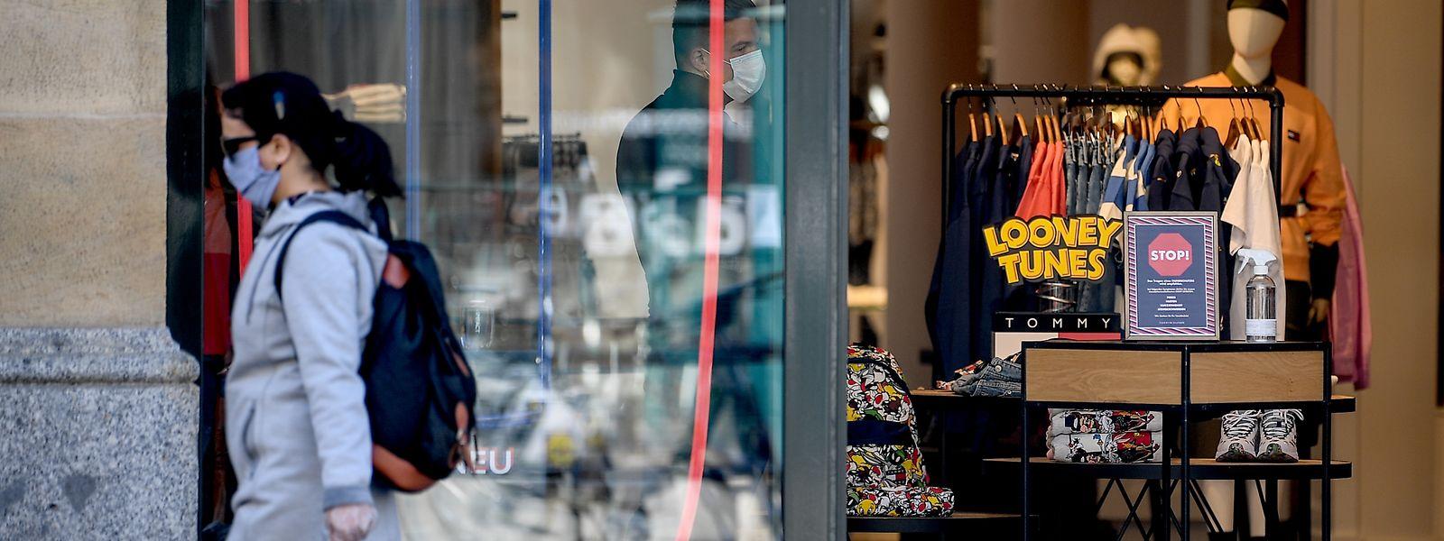 La Ville de Luxembourg va apporter une aide directe de 1.000 euros à tous ses commerces.