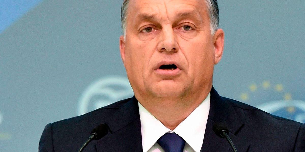 Viktor Orban droht der Ausschluss aus der konservativen Parteienfamilie EVP.