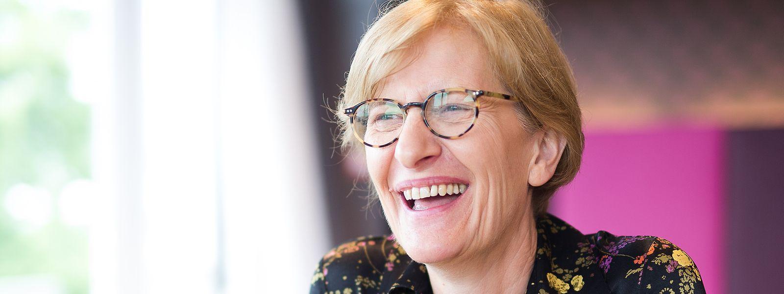 A 61 ans, Christianne Wickler n'entend pas quitter ses fonctions au sein du centre commercial qu'elle a porté, Pall Center.