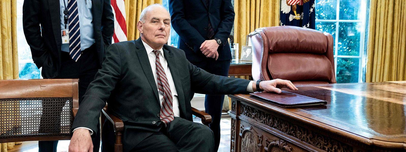 Général des Marines à la retraite, John Kell était devenu le principal conseiller de Donald Trump à la Maison Blanche en juillet 2017.