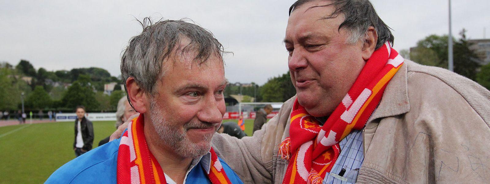 Henri Roemer a connu pas mal de choses au FC Wiltz. Comme le retour en BGL Ligue à l'issue d'un match de barrage contre le Swift. Pascal Lebrun conduisait alors l'équipe.