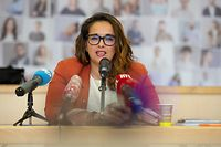 Politik, Pressekonferenz OGBL Nationalcomité, Nora Back, foto: Chris Karaba/Luxemburger Wort