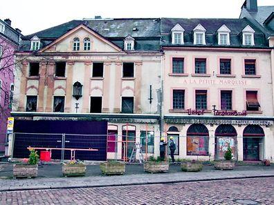 Im März 2008 ließ die Gemeinde Echternach das Gebäude absichern. (Archivfoto: Andreas Adam)