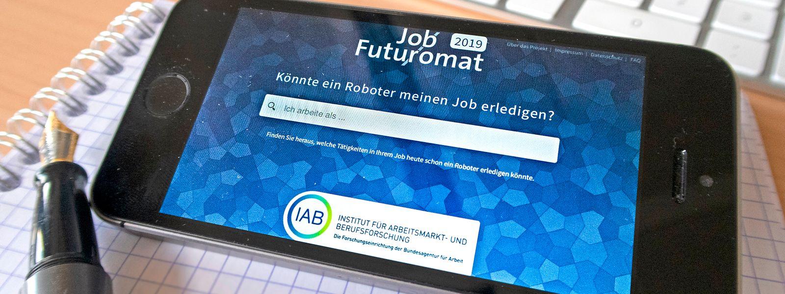 Die Digitalisierung schreitet voran: Inwiefern die Tätigkeiten eines Berufes von einem Roboter übernommen werden können, zeigt ein Online-Tool der deutschen Bundesagentur für Arbeit.