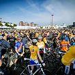 Des vélos à perte de vue. Utrecht a l'habitude et va être servie ce week-end!