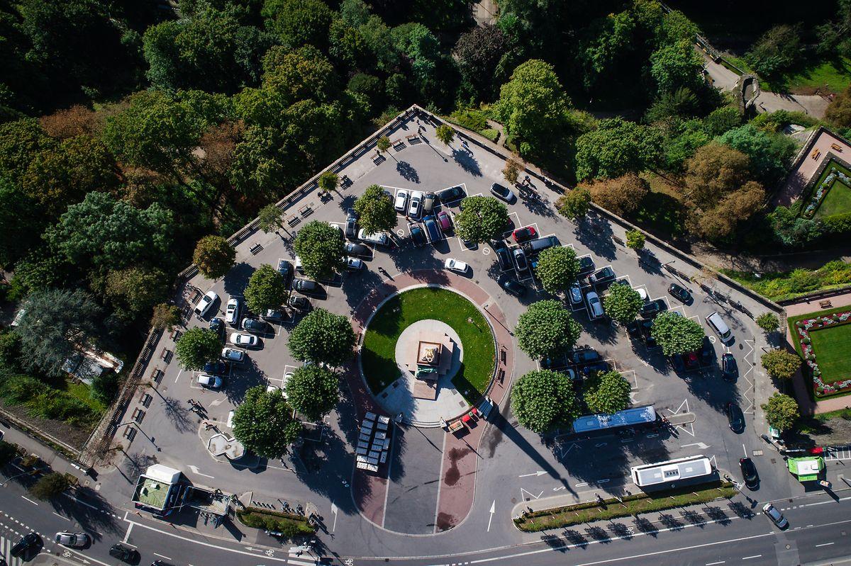 Le réaménagement de la place de la Constitution prévoit la suppression des places de parking et son utilisation comme «espace public et de rencontre».
