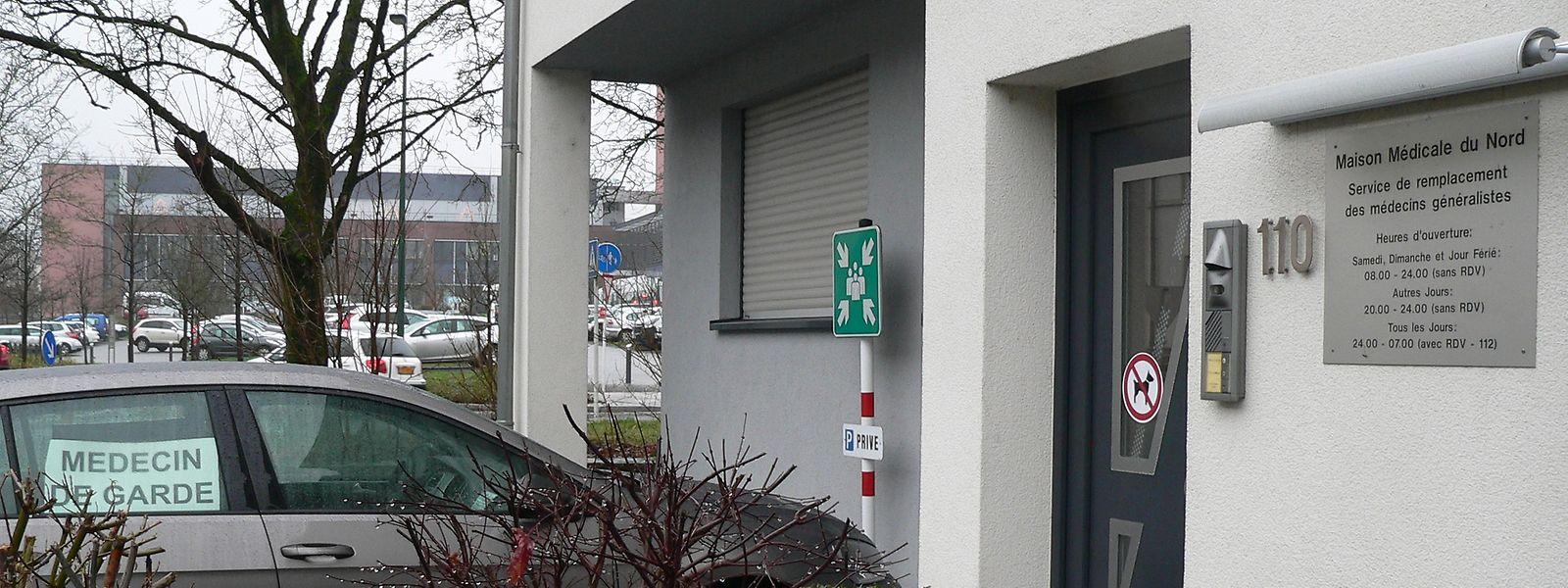 """Zehn bis 20 Patienten besuchen jede Nacht die """"Maison médicale"""" in Ettelbrück."""