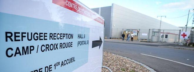 L'accueil d'urgence des réfugiés mis en place à Luxexpo.