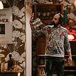 """Visita de los estudios de SP Televisão para ver las grabaciones de la serie """"dime como estuvo"""", con los actores Fernando Pires, Rita Brutt y Ana Tang."""