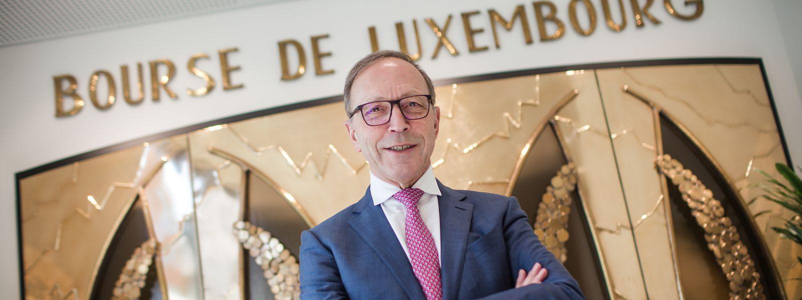 Robert Scharfe leitete die Luxemburger Börse neun Jahre lang und prägte ihr einen nachhaltigen Stempel auf.