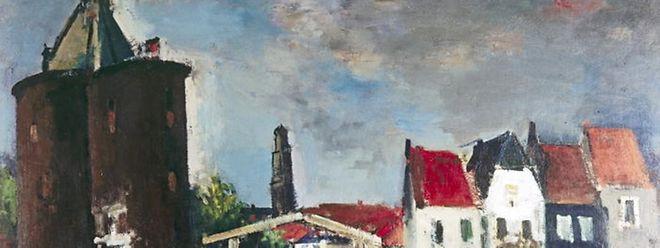 Joseph Kutter: Pont à Enkhuizen, 1938-39
