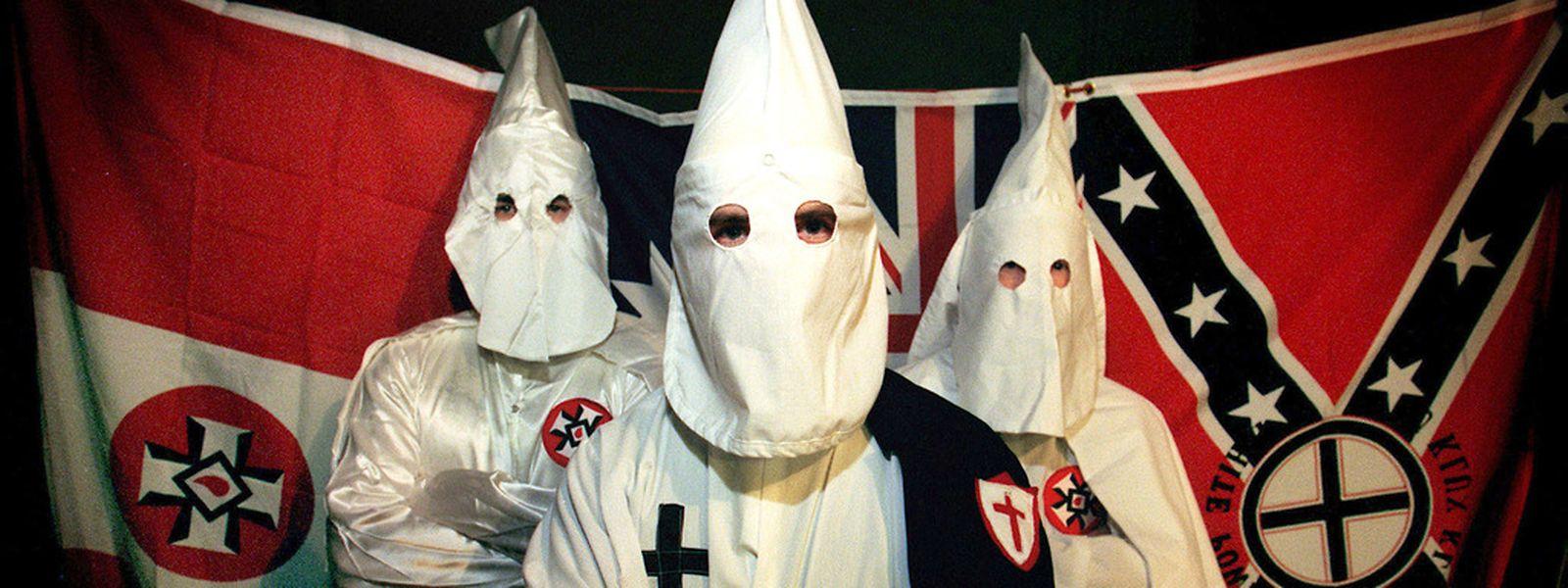 Nicht ohne meine Kapuze: Mitglieder des australischen Ku-Klux-Klans in Sydney.