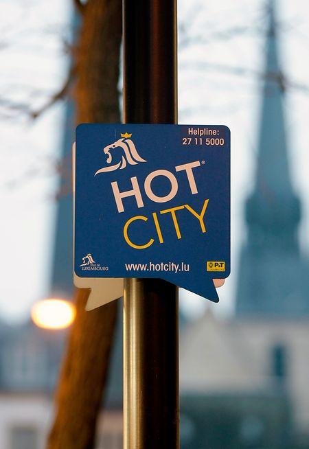 800 bornes wifi assurent une connexion gratuite à Internet à travers Luxembourg-Ville