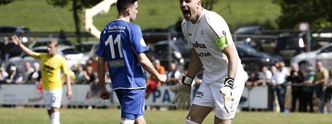 Jonathan Joubert hurle son bonheur d'une nouvelle qualification pour la Ligue des champions.