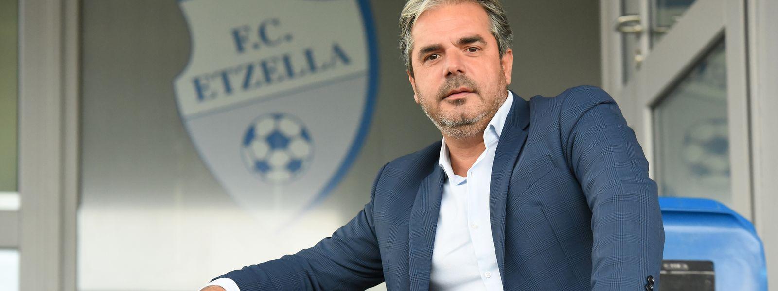 Tun di Bari ist seit elf Jahren der Präsident des FC Etzella.