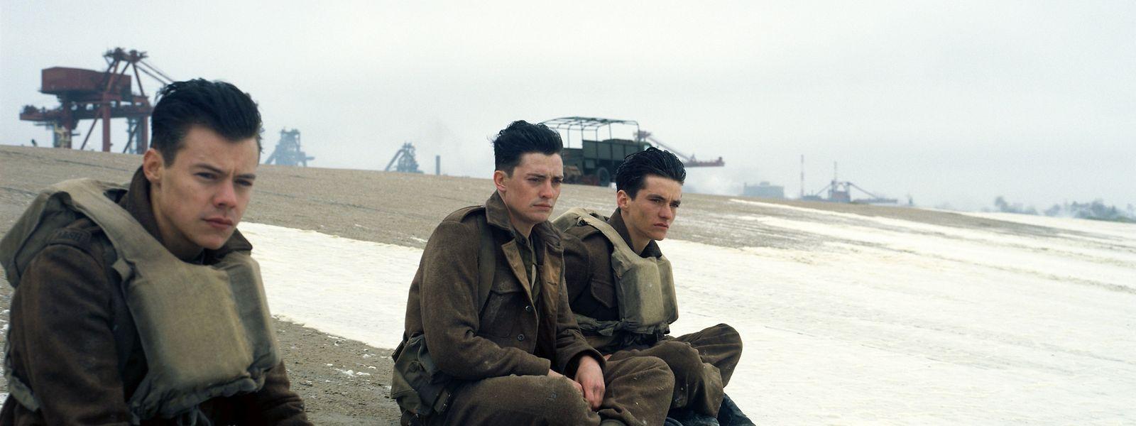 """""""Dunkirk"""" erzählt die Geschehnisse aus den Blickwinkeln unterschiedlicher Protagonisten."""