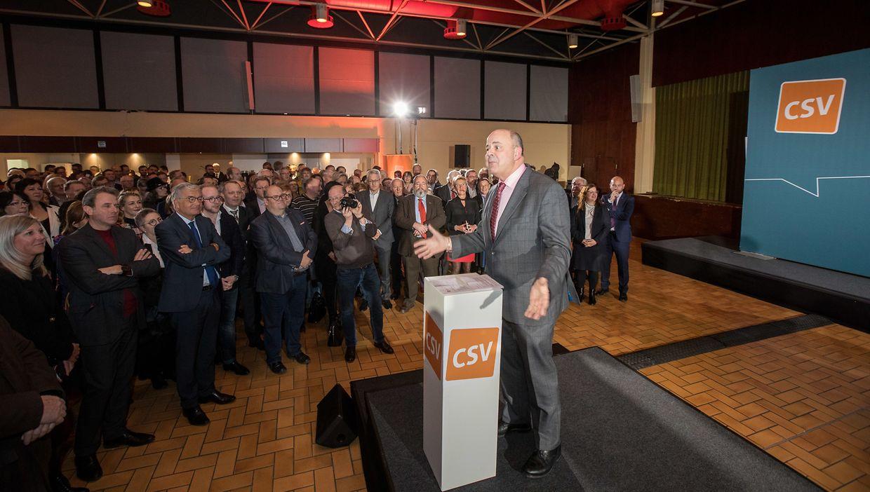 Die CSV hatte am Donnerstag zu ihrem traditionellen Neujahrsempfang ins Kulturzentrum Am Sand nach Niederanven geladen.