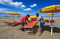 Italien bereitet sich auf Sommersaison vor.