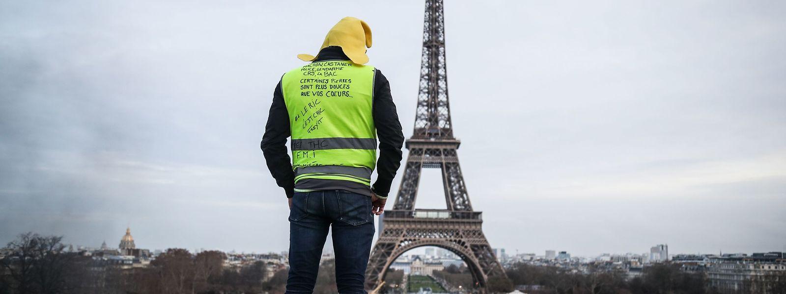 Zahl der Protestierenden in Frankreich nimmt ab.