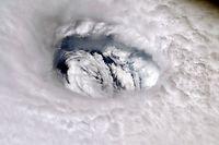 dpatopbilder - 02.09.2019, ---, ..: Der Hurrikan Dorian, aufgenommen von der Intenationalen Raumstation ISS aus. Foto: Nick Hague/NASA/dpa - ACHTUNG: Nur zur redaktionellen Verwendung und nur mit vollständiger Nennung des vorstehenden Credits +++ dpa-Bildfunk +++