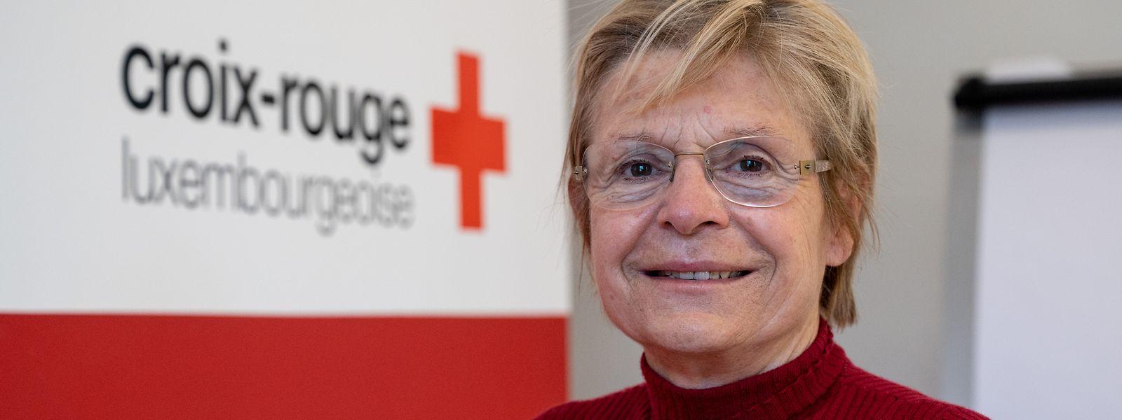 Vizepräsidentin Rita Krombach ist seit 1984 ehrenamtlich für das Luxemburger Rote Kreuz aktiv.