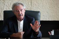 Politik, Interview Jean Asselborn, Foto: Chris Karaba/Luxemburger Wort