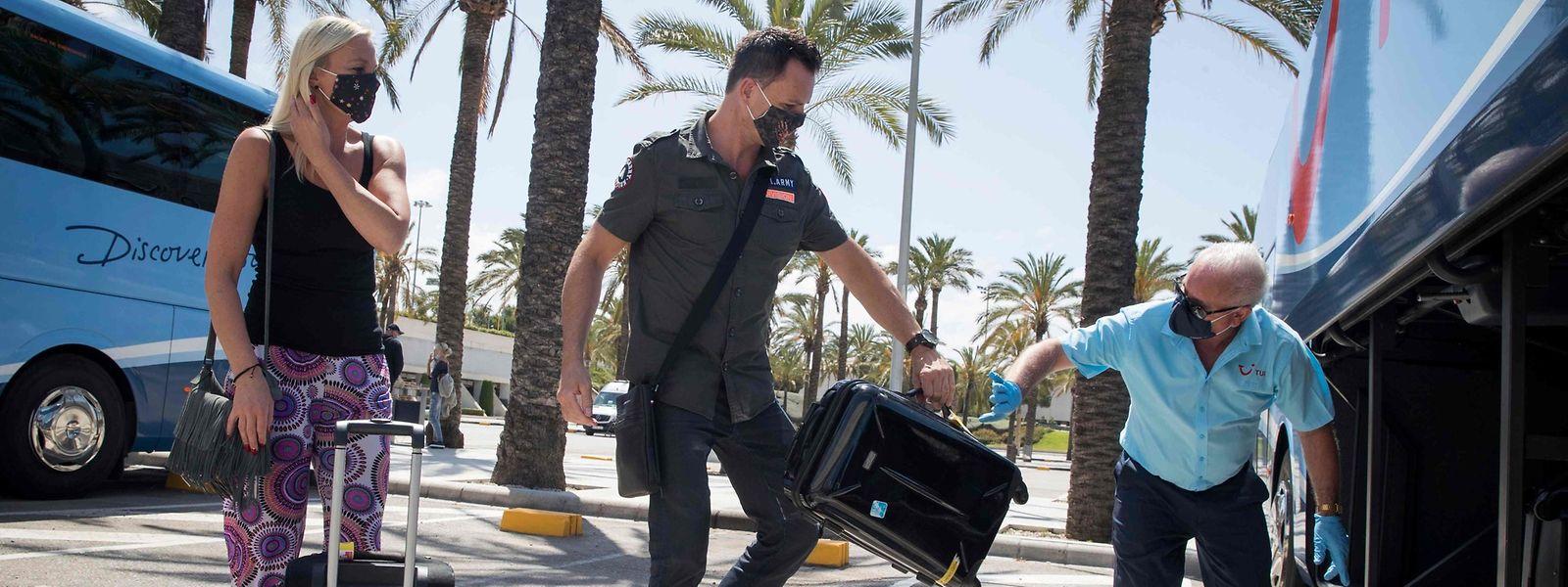 Vom 15. bis 20. Juni dürfen ausschließlich Deutsche auf der Baleareninsel Mallorca Urlaub machen.
