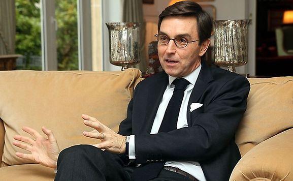 O embaixador de Portugal no Luxemburgo, Carlos Pereira Marques