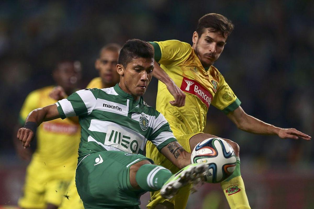 O golo de Fredy Montero não evitou o empate do Sporting frente ao Paços de Ferreira