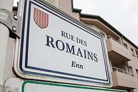 Lok , ,rue des Romains , Strassen , wg Hausdurchsuchung bei mutmasslichem Rechtsradikalen , Foto:Guy Jallay/Luxemburger Wort
