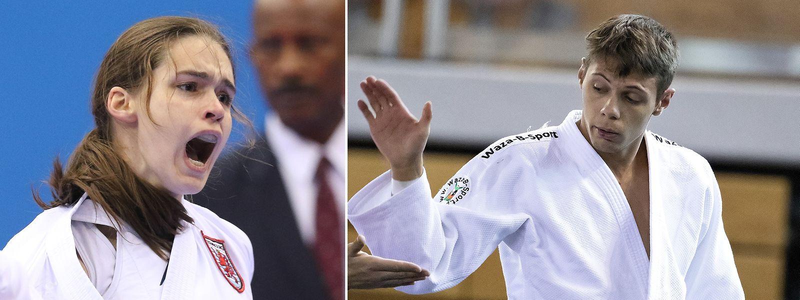 Karateka Jenny Warling und Judoka Claudio Nunes dos Santos sind die olympischen Hoffnungsträger im Kampfsport.
