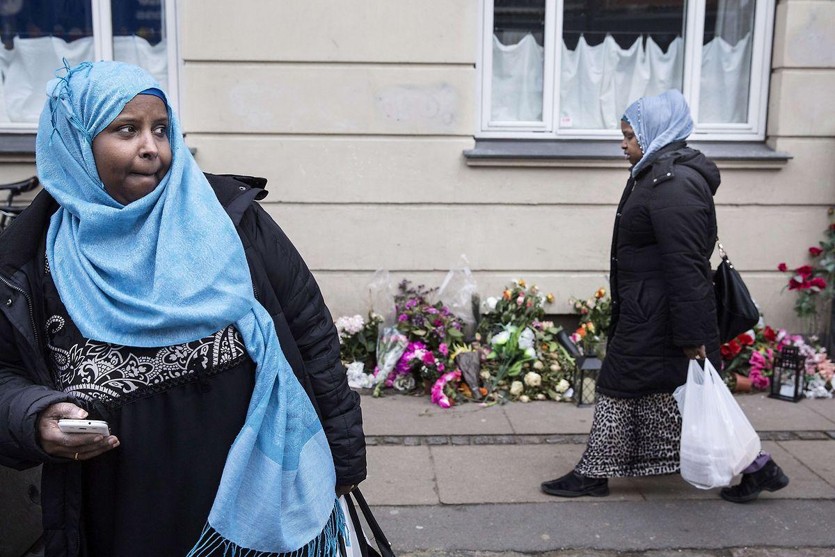 Muslimische Einwanderinnen im Kopenhagener stadtteil Norrebro