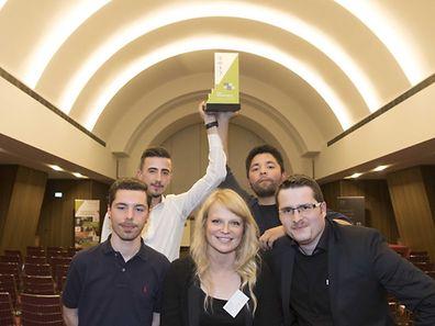 Young Enterprise Final - The winning team MergeIN