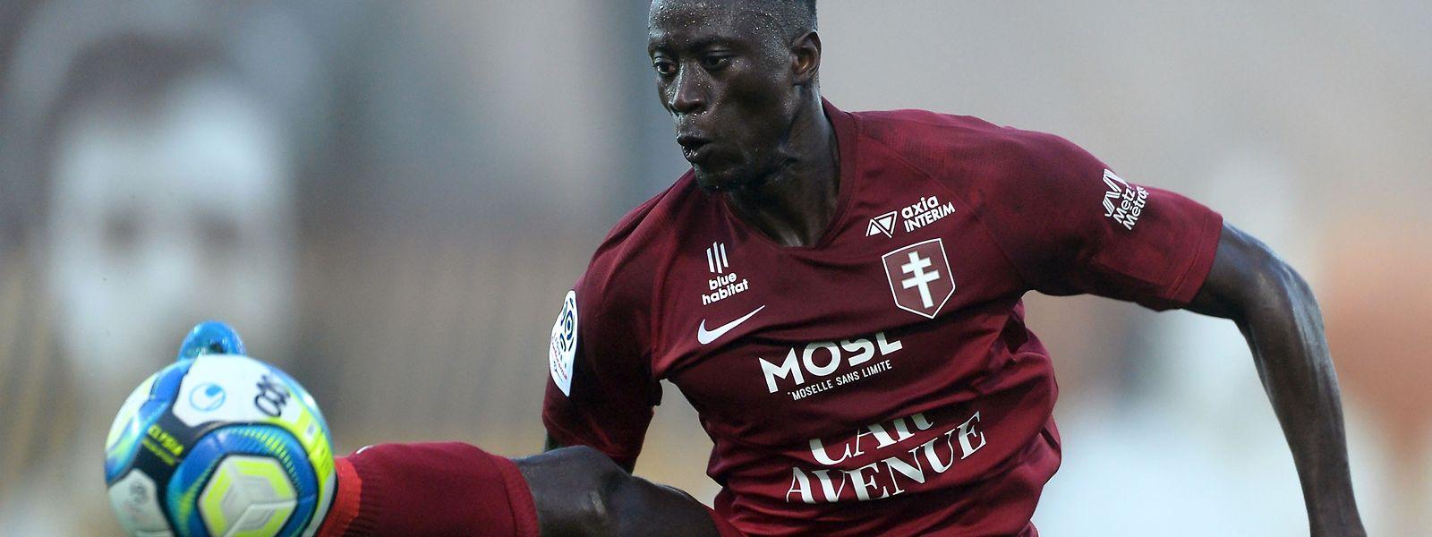 Ibrahima Niane et les Messins doivent montrer une sérieuse réaction par rapport à leur prestation à Angers s'ils entendent inquiéter le PSG, vendredi soir à Saint-Symphorien