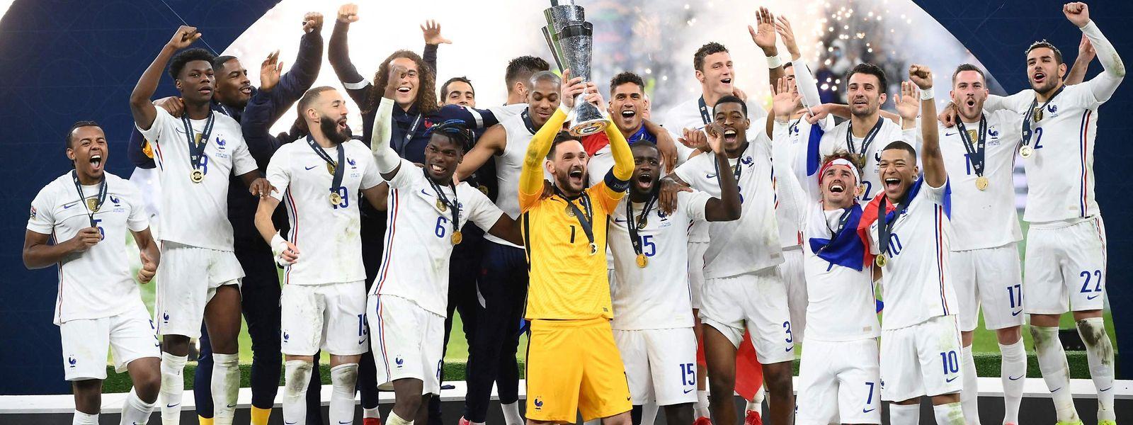 Trois ans après son titre de champion du monde, l'équipe de France retrouve l'ivresse de la victoire.