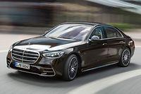Mercedes-Benz S-Klasse, Plug-in-Hybrid, 2020, Outdoor, Fahraufnahme, Exterieur: Onyxschwarz Mercedes-Benz S-Class, plug-in hybrid, 2020, outdoor, driving shot, exterior: onyx black