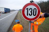 Die deutsche sozialdemokratische Partei SPD hat ein generelles Tempolimit von 130 Kilometern pro Stunde als eines der Themen für zusätzliche Vorhaben benannt.