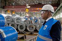Einweihung Liberty Steel Düdelingen in der Z.I. Wolser. Sanjeev Gupta (Executive Chairman)  (Foto: Alain Piron)