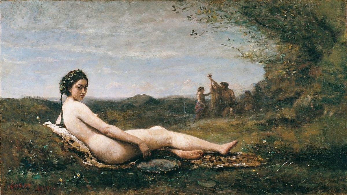 Corot: Die Ruhe, 1860