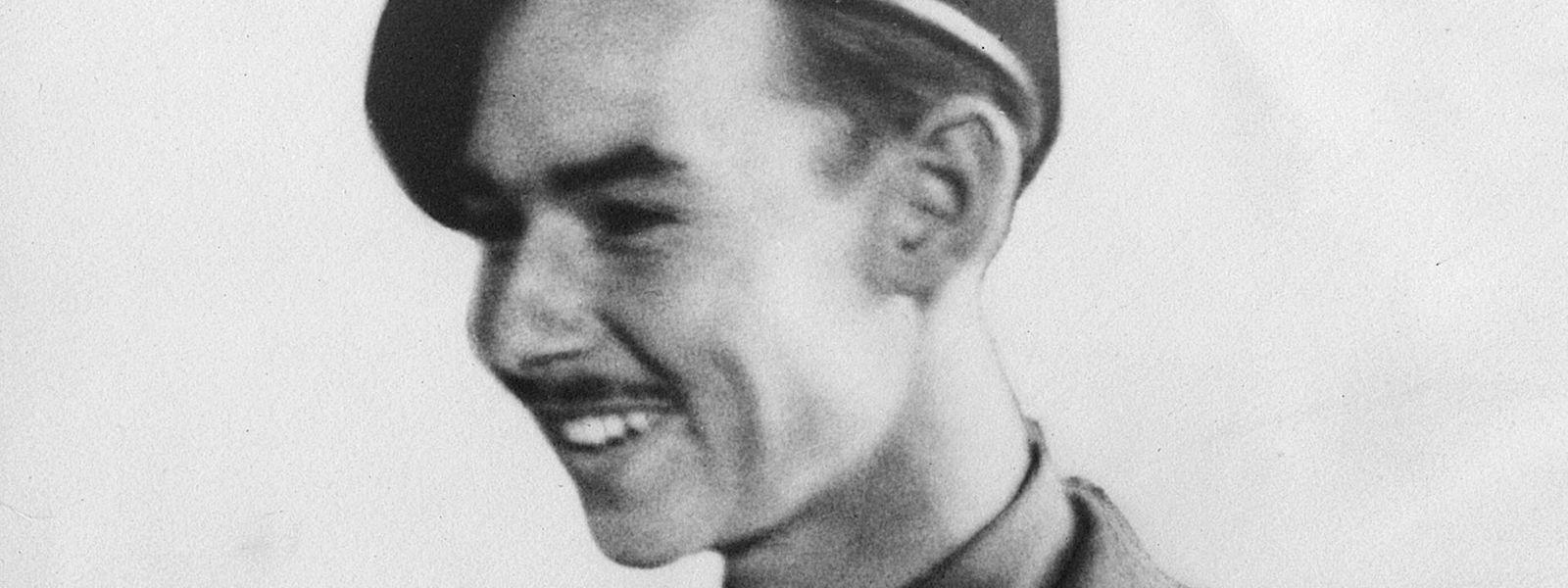 Prinz Jean im September 1944 bei den Irish Guards.