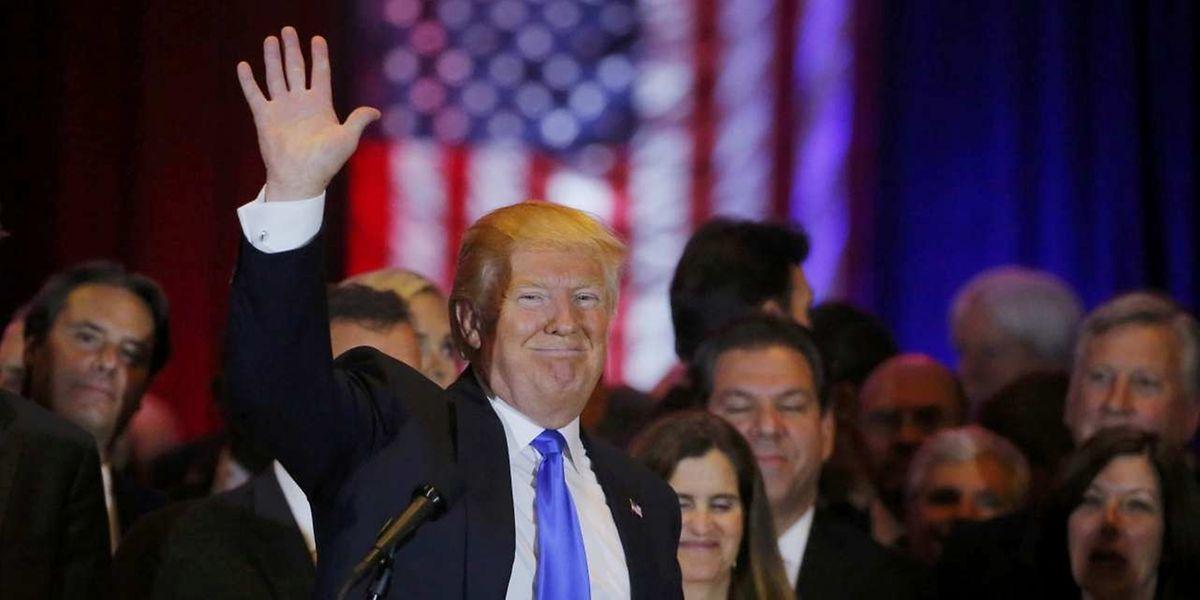 Kommt einer Nominierung immer näher: Nach seinem Heimsieg in New York, gewinnt Donald Trump fünf weitere Vorwahlen.