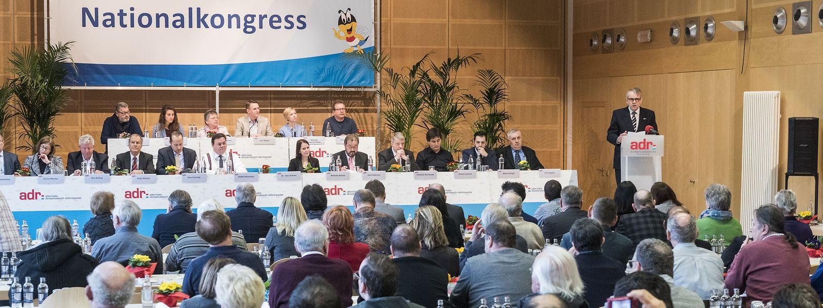 Der Kongress der ADR fand am Sonntag in Berdorf statt.