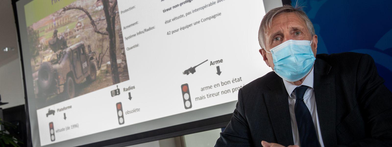 Présenté mercredi, le projet d'acquisition de 80 nouveaux véhicules pour l'armée ne devra pas dépasser une enveloppe de 367 millions d'euros, a assuré François Bausch, ministre de la Défense.
