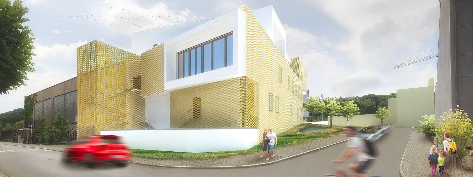 En septembre 2020, lorsque les travaux seront achevés, un nouveau centre de diagnostic aura pris place à Differdange.