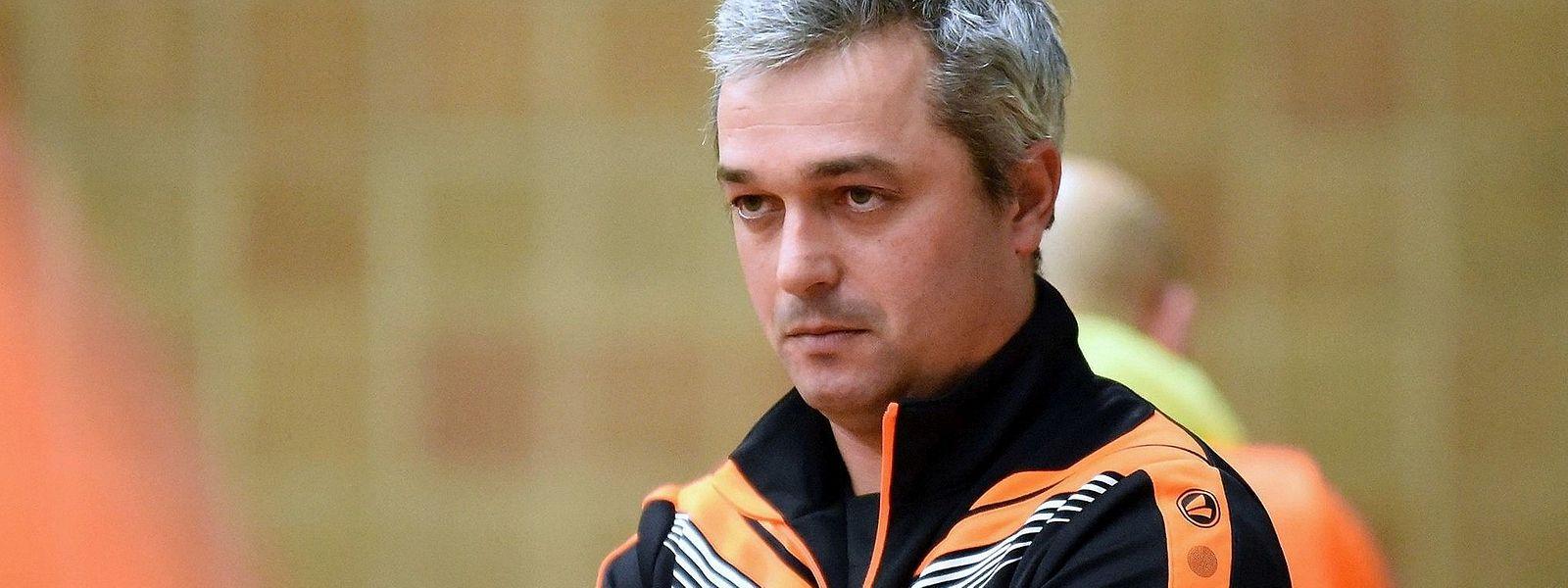 Pour Rui Leal, l'entraîneur- adjoint de Clervaux, son équipe devra se montrer patiente face au Samba 7 ALSS.