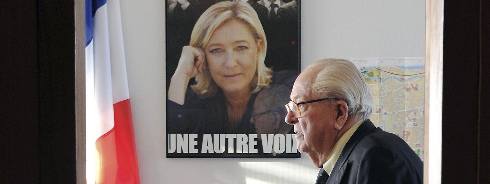 Jean-Marie Le Pen wurde 2015 aus dem Front National ausgeschlossen.
