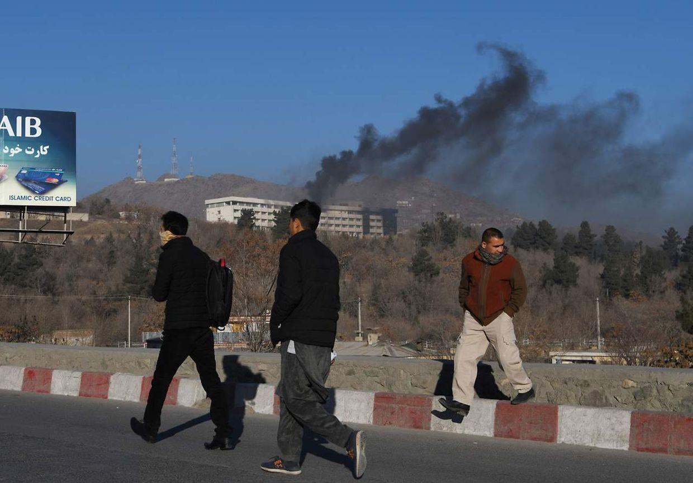 Der Angriff auf das Interkontinental Hotel in Kabul forderte, laut offiziellen Angaben, zehn Töte, darunter die vier Angreifer.